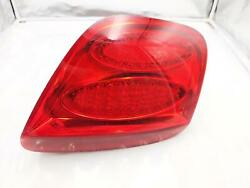 2005 Bentley Continental Gt Passengerand039s Right Side Rear Tail Light Lamp Oem Led