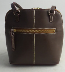 Dooney amp; Bourke Smooth Leather Crossbody Trixie Brown $79.99