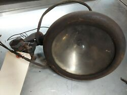 1920and039s Brass Spotlight Mirror With Claps