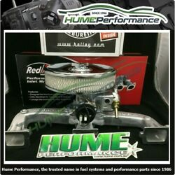 Brand New Holden 6 Cylinder Intake Package 350 Holley 80350 Manifold Air Cleaner