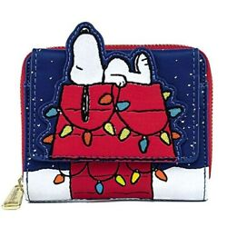 Loungefly Peanuts Snoopy Christmas Wallet