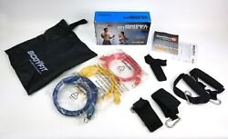 Body Fit Bodyfit Resistance Fitness Kit Tube Band Kit - Sculpt And Shape System 6