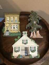 Brian Baker's Dejavu New England Carriage Brownstone Swamp Cypress Wall Hanging