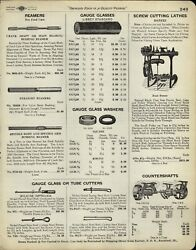 1929 Paper Ad Barnes Screw Cutting Foot Power Lathe South Bend