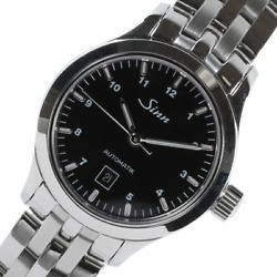 Sinn 456 Automatic Date Stainless Steel Black Dial German Watch 200m Box And Paper