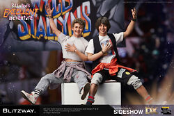Blitzway Bill And Ted's Excellent Adventure 1/6 Scale Figure Set Bw-ums 10701 Nib