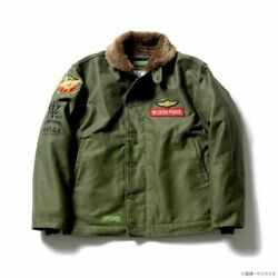 Strict-g.arms Mobile Suit Gundam N-1 Deck Jacket Zeon Army Psl Limited Japan
