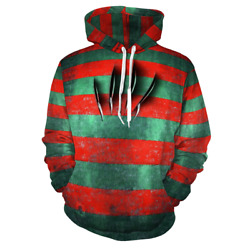Freddyand039s Glove Blades Nightmare On Elm Street Hoodie Dope Horror Movie Freaky