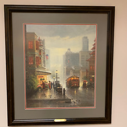 """""""city By The Bay"""" - G Harvey - Signed And Numbered Ltd. Ed. Print. Coa Included."""