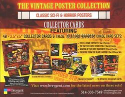 Classic Vintage Movie Posters Science Fiction And Horror Dealer Sell Sheet Sale