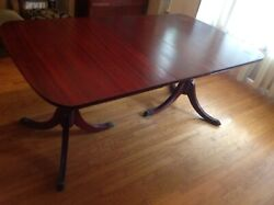 Antique Dining Room Set. Table , Buffet , Hutch,. Very Good Condition.