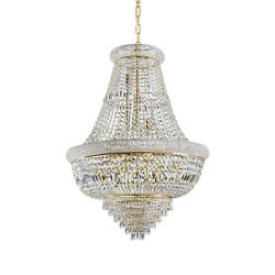 Chandelier Classic With Crystals A 24 Lights Dl0098