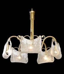 Chandelier Classic Wrought Iron Gold Antique A 5 Lights Coll. Bga 1222