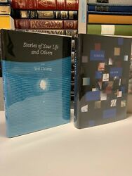 Ted Chiang Stories Of Your Life And Exhalation Signed Numbered Subterranean Press