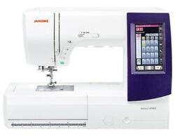 New Janome Memory 9850 Embroidery And Sewing Machine.works On 110v And 220v