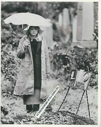 Goldie Hawn 10x8 Bfi Archive Print With Umbrella