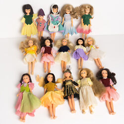 Quantity Of Hornby 1980s Flower Fairies 15 Dolls With Clothes