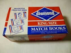 3- Boxes Vintage Presidential Collection Diamond Brand Matches,unopened 50 Count