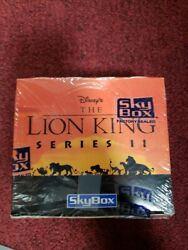 1994 Skybox Disneyand039s Lion King Series Ii Trading Cards Factory Sealed Hobby Box