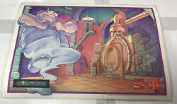 Vintage Mcdonalds Coca Cola Ghostbusters Ii Ghost Placemat Rare