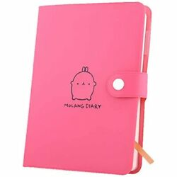 Haiker 2021-2022 Pink Molang Rabbit Diary Any Year Planner Pocket Journal With