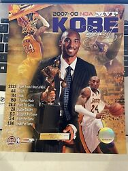 Kobe Bryant 2007-08 Nba Mvp Lakers Licensed Un-signed Print Picture 8x10 Photo