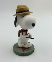 Westland Snoopy Beagle Scout Bobblehead Figurine