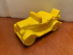 AVON Vintage Car Wild Country After Shave Cologne Bottle Rare Yellow