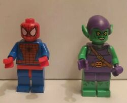 Lego Superheroes™ Marvel Spider-man And Green Goblin Minifigure From 10687