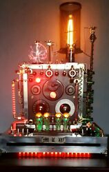 Upcycled Nixie Clock Desk Lamp You Must Read Full Description Important Info