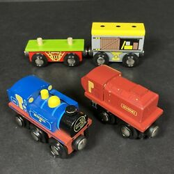 Bigjigs Rail Wooden Railway Train Carriage Bundle Magnetic Creative Toys