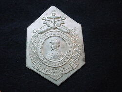 Badge Die Trial For The Tibbits Veteran Corps Of Troy New York