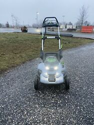 Ego Lm2100sp Power+ 56v 21 Self Propelled Push Lawn Mower Ready To Go