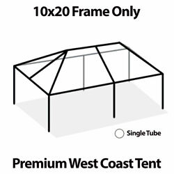 10x20' West Coast Tent Frame Only Commercial Anodized Aluminum Replacement Frame