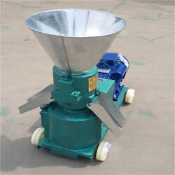 Chicken Duck Feed Pellet Mill Machine 220v 3kw Farm Animal Pellet Mill Machine