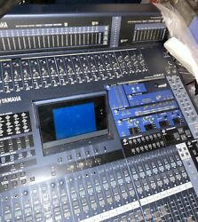 Yamaha 02r96 V2 Professional Mixing Console Complete With Meter Bridge