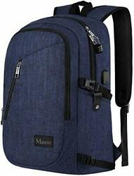 Mancro College Backpack Business Slim Laptop Backpack Mancro Anti Theft Water... $53.70