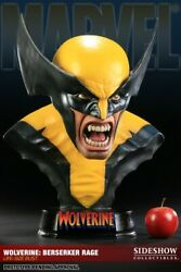 Wolverine Berserker Rage Life-size Bust X-men Sideshow Collectibles No Prime 1