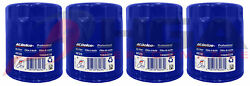 Genuine Gm Acdelco Engine Oil Filter Pf26 Pf26f Set Of 4