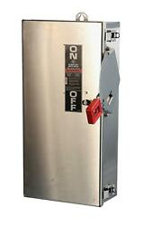 Thn3362ss Stainless Steel 60a Non-fusible Safety Switch Disconnect