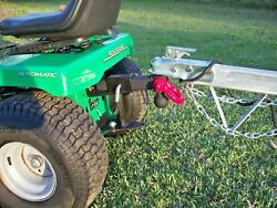 Riding Mower Tow Hitch Receiver Made In The Usa Fits Any 2 Hitch