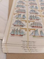 Canada Stamp 747 Rare 12 Cent 17 Sheets 50 Stamps Per Sheet