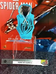 Hot Toys Vgm34 Scarlet Spider Man Marvel 1/6 Scale Action Figure's Hoodie Only