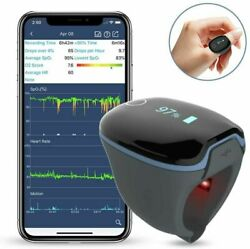 Wellue Bluetooth Health O2 Ring Tracker Oxygen Levels And Heart Rate Monitor
