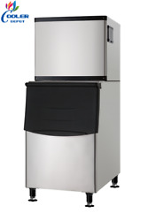 New Hd350 Commercial Ice Maker Stainless Steel Restaurant Ice Cube Machine Nsf