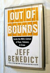 Out Of Bounds Inside The Nbaand039s Culture By Jeff Benedict 2004 Basketball Crime