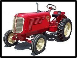 Cockshutt Tractors Model 60 Collectible Metal Sign Large Size 12 X 16