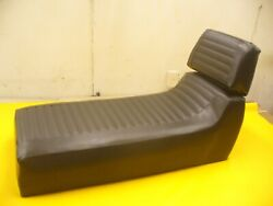 1972 Ski-doo Nordic Pleated Snowmobile Seat Cover With Backrest New