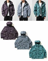 A Bathing Ape Menand039s Loose Fit Hoodie Jacket Color Camo Fast Shipping From Japan