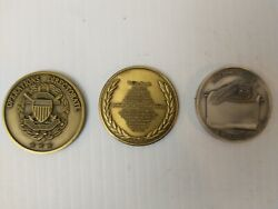 Vintage Military Challenge Coins. Joint Chief, Special Forces,dept Of Defense.